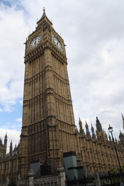 Big Ben. London, England. Photo by Rocio Guenther