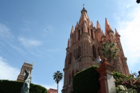 The cathedral in San Miguel, Guanajuato. Photo by Rocio Guenther.