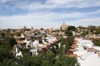 Panoramic shot of San Miguel de Allende, Guanajuato. Photo by Rocio Guenther