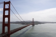 The Golden Gate Bridge. San Francisco, Calif. Photo by Rocio Guenther.