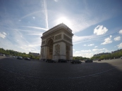 Arc du Triomphe. Photo by Rocio Guenther.